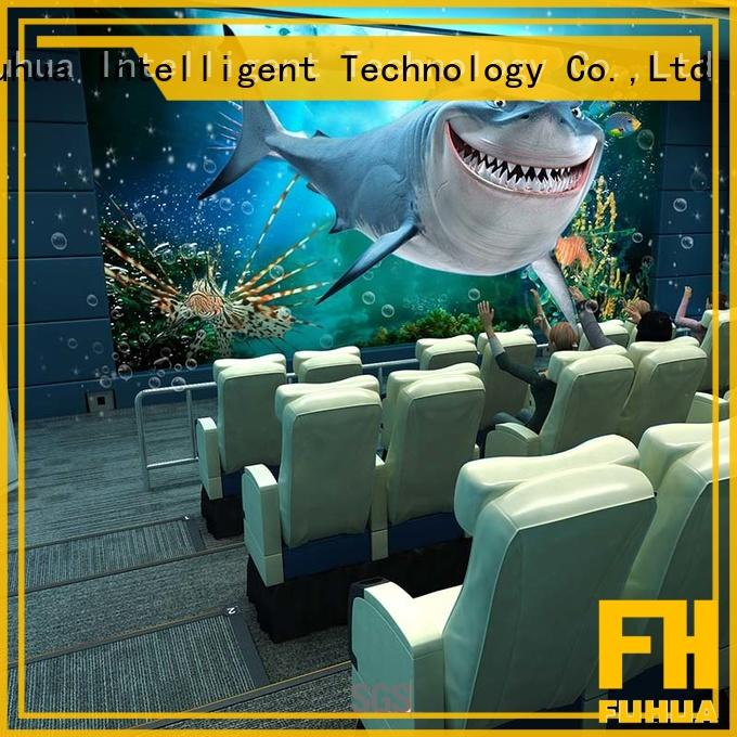 Fuhua cinema 5d cinema Realistic Effect for amusement park