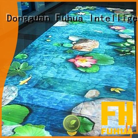 Fuhua paradise floor projection supply for school
