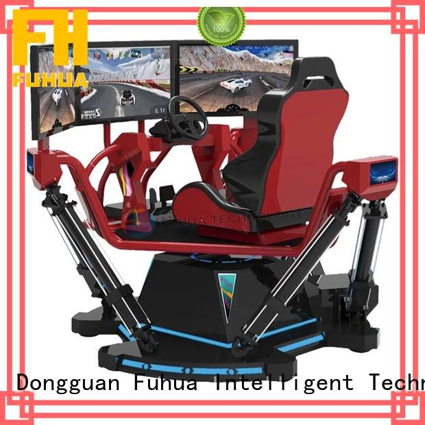 Attractive racing car simulator indoor for sale for amusement