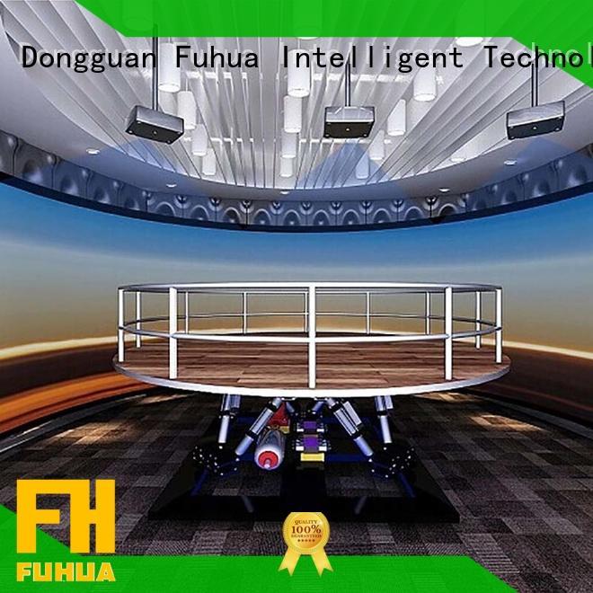 Fuhua experience 3d earthquake simulator for scenic area