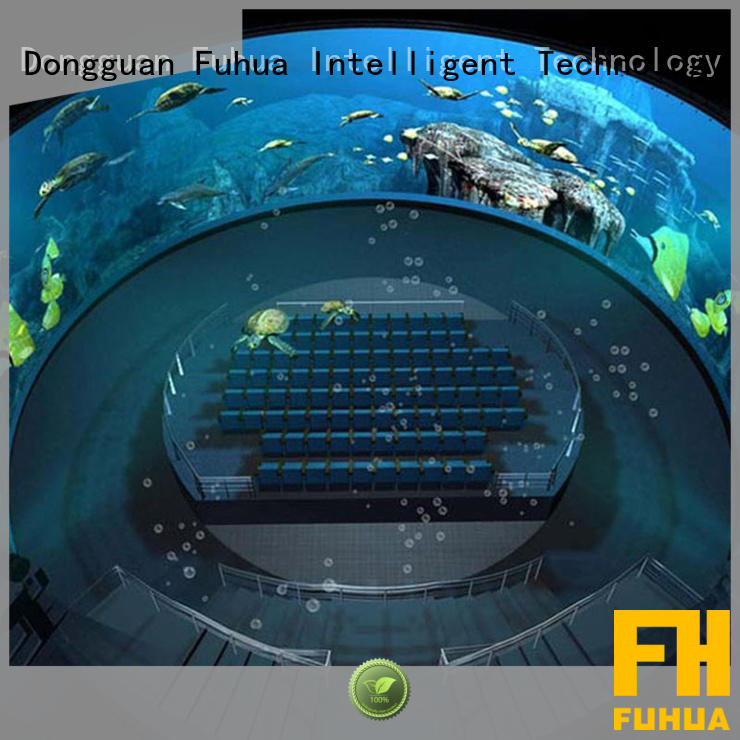 Fuhua cinema dome projection Projector system for commercial amusement