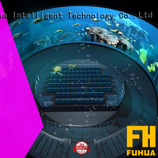 High-tech projection dome fisheye China