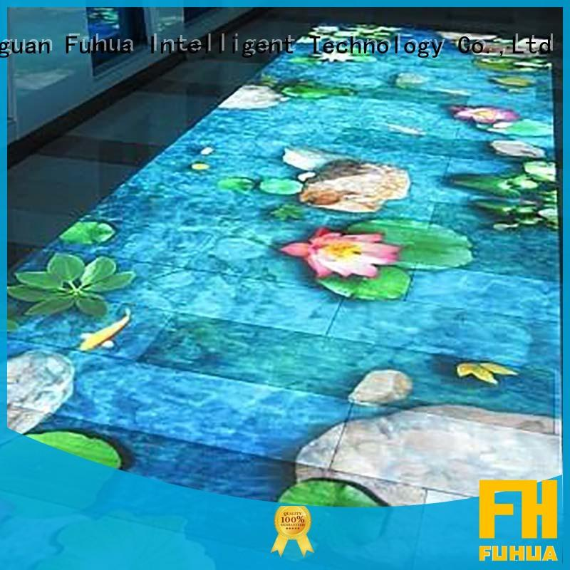 simple interactive floor projection system for sale children's playground