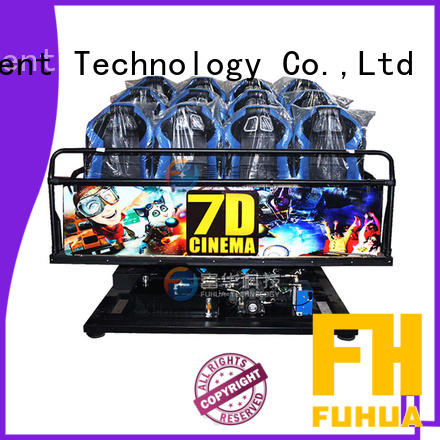Fuhua high performance xd cinema stereo and seat for aquariums