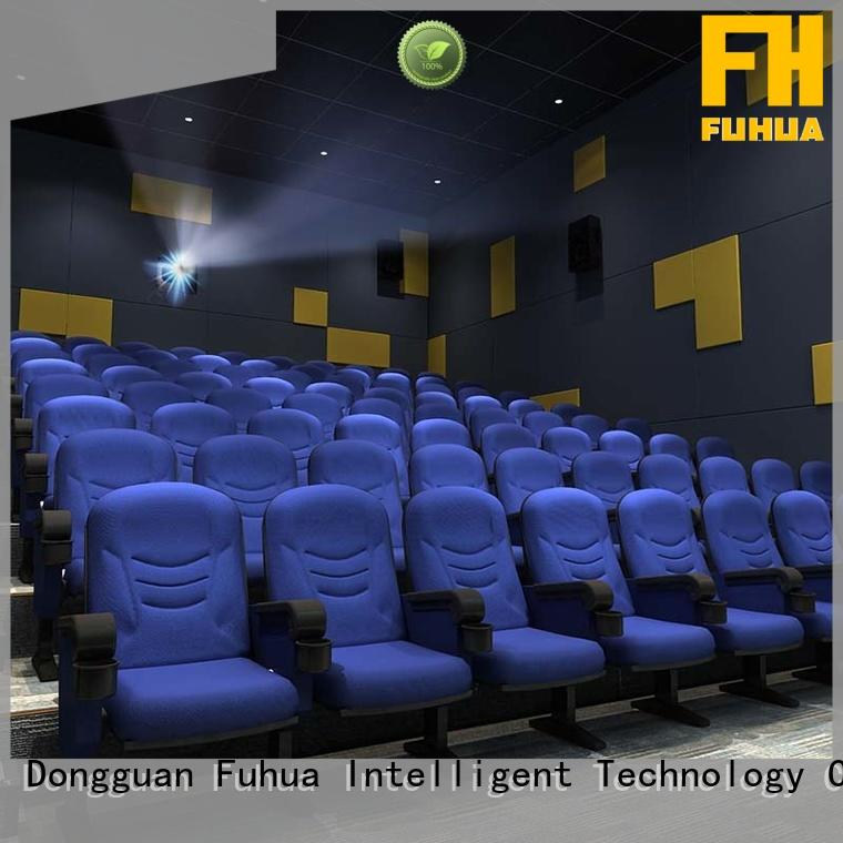 equipment 3d theater price for theme park Fuhua