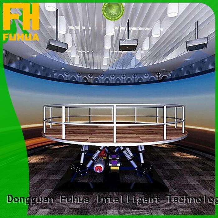 Fuhua 3d earthquake simulator for sale for scenic area