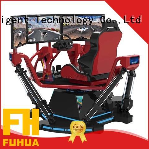 Fuhua arcade vr racing simulator for sale for cinema