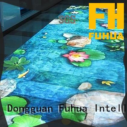 Fuhua series interactive projection wall Enhance confidence for scenic area