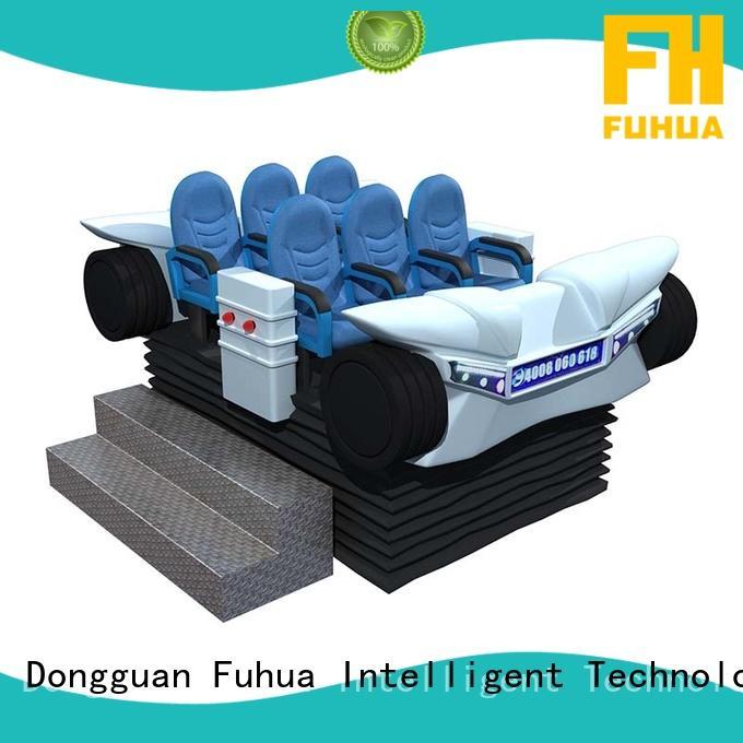 Fuhua Brand center platform 9d vr cinema virtual factory