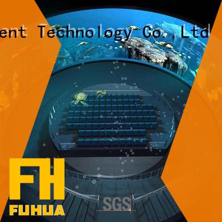 High-tech inflatable cinema Special design museum Fuhua