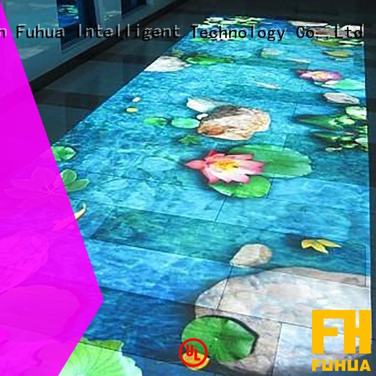 Fuhua series floor projection improve ability for wedding