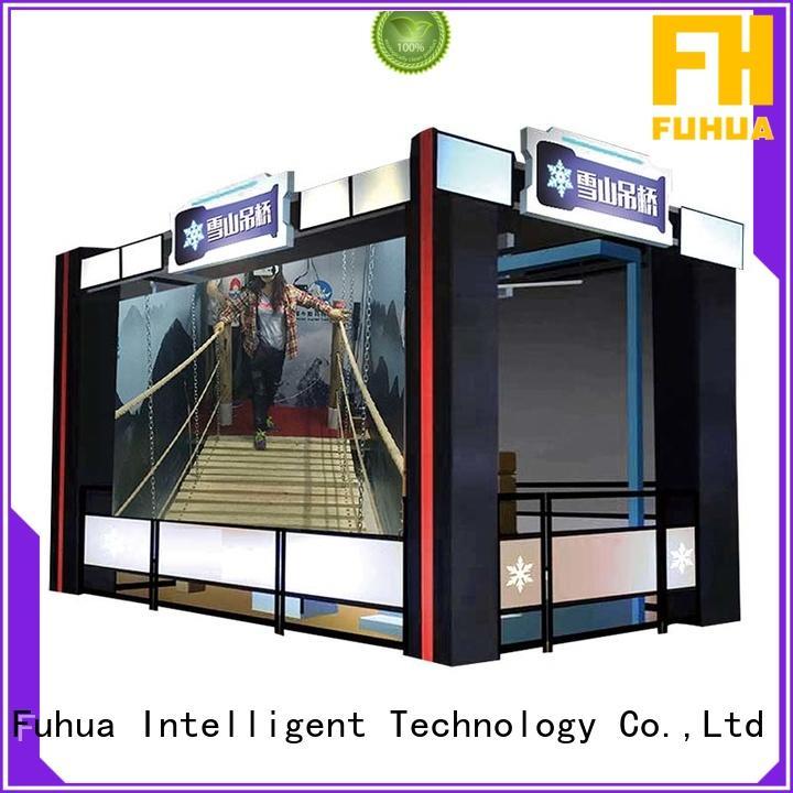 virtual reality bridge sports for aquariums Fuhua