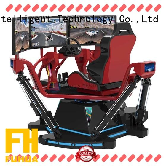 6dof racing simulator cockpit for cinema Fuhua