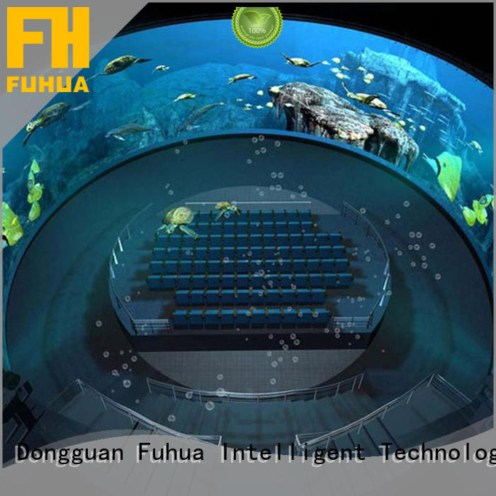 Fuhua projector dome cinema Realistic Effect for commercial amusement