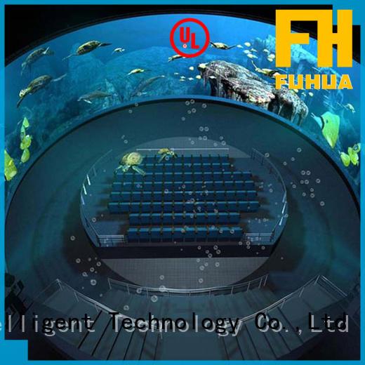 cinema lens fuhua projection dome Fuhua manufacture