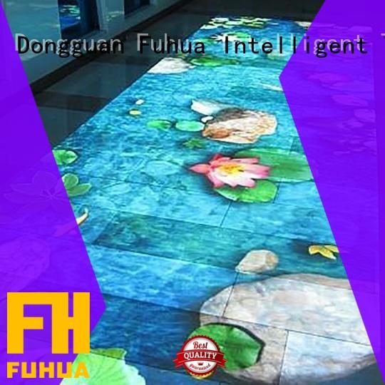 Fuhua relaxing floor projection improve ability for mall