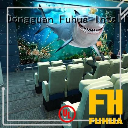Fuhua machine 4d 5d cinema different experience for theme park