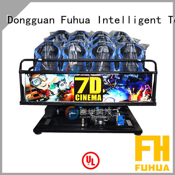 Interactive 7d cinema fuhua audio system for clubs