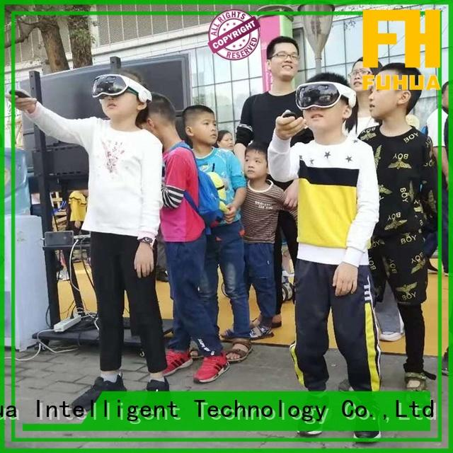 Fuhua Multiplayer mixed reality games different experience for tourist attractions