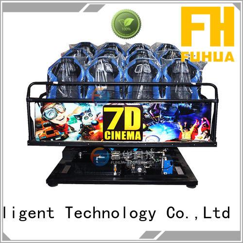 Fuhua Attractive 7d simulator cinema audio system for museum
