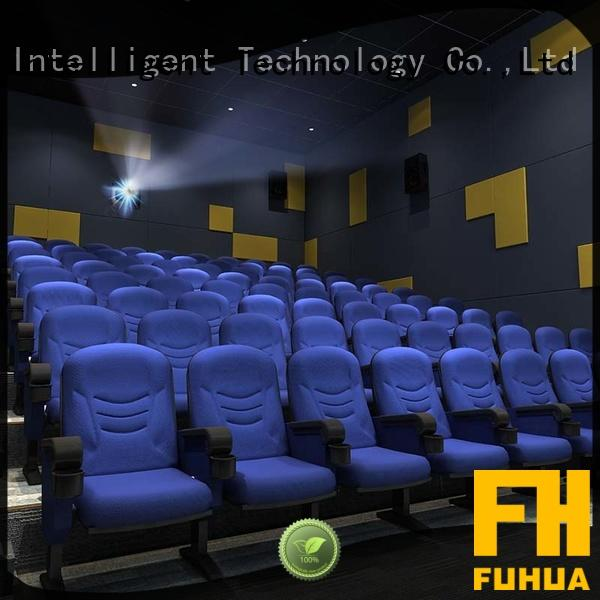 Fuhua economy 3d theater 3D control for theme park