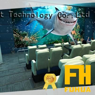 Fuhua xd 4d 5d cinema supply for amusement park