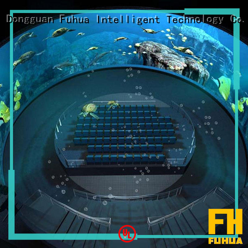 High-tech projection dome wholesale for space & science center Fuhua
