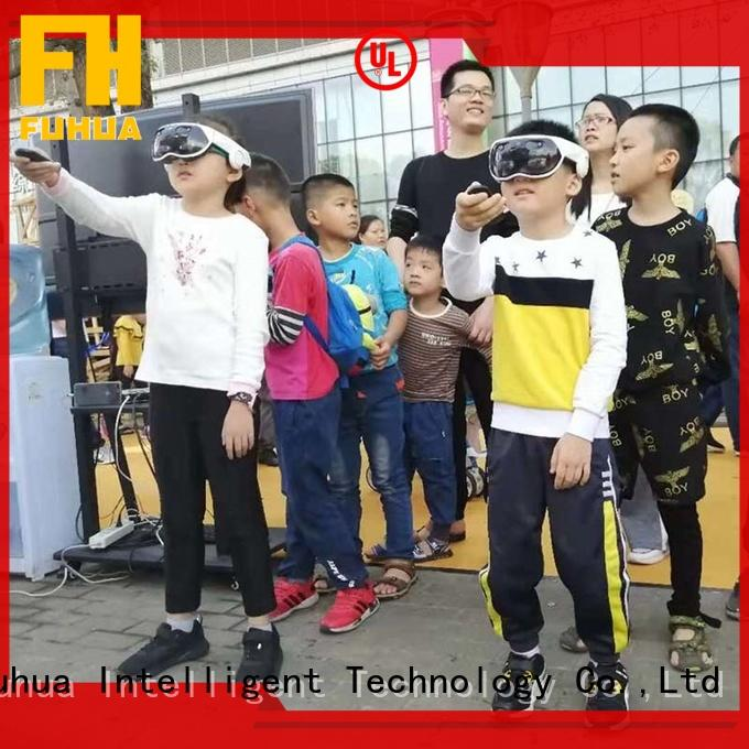 Interactive mixed reality games game Realistic Effect for family entertainment center