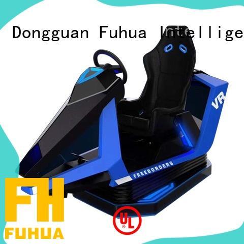 Amusement Park Product VR Flight Racing Simulator Metal Cockpit