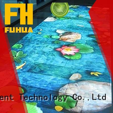 Fuhua relaxing floor projection Multiplayer for square
