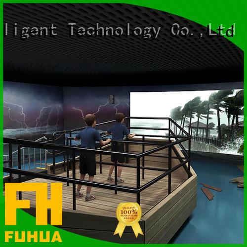 automatic typhoon simulator simulator for education