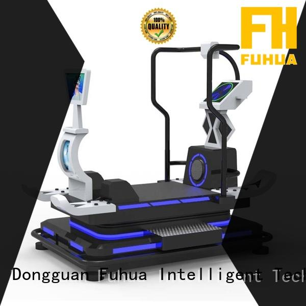 Fuhua cool ski vr realistic experience for fitness game center
