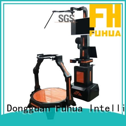 Fuhua fashionable vr shooting simulator outdoorindoor for market