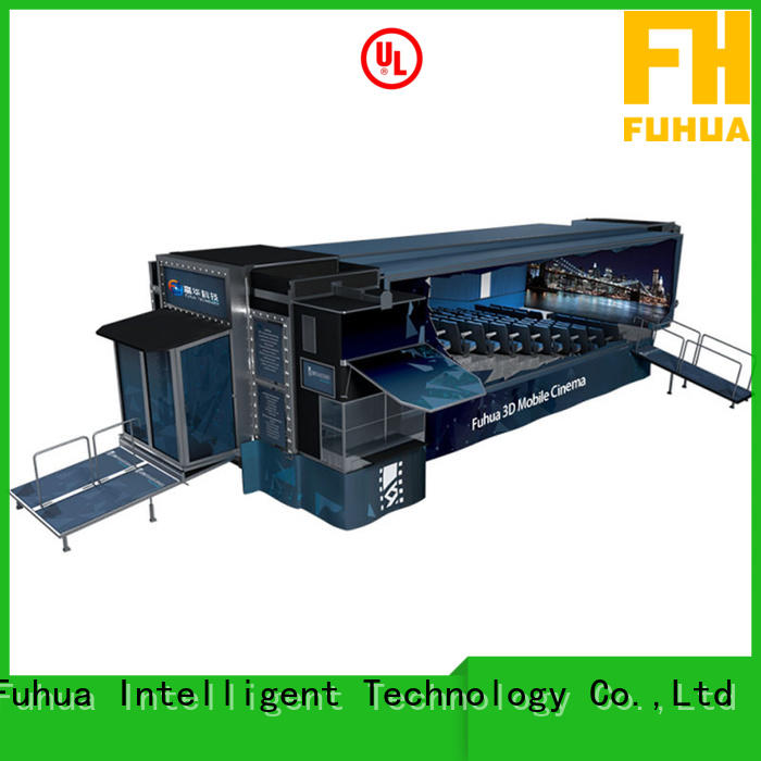 Fuhua theatre mobile theater sound system for tourist attractions