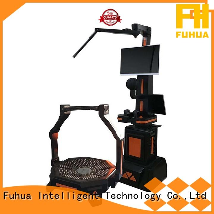 Fuhua cool shooting game simulator for sale for theme park