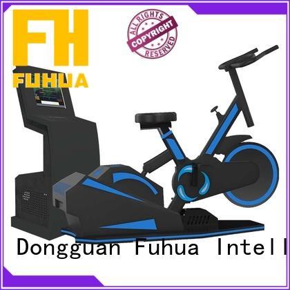 Fuhua virtual vr treadmill for exercising for amusement