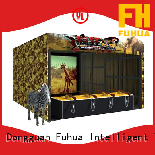 Fuhua machine kids shooting game engines for theme park