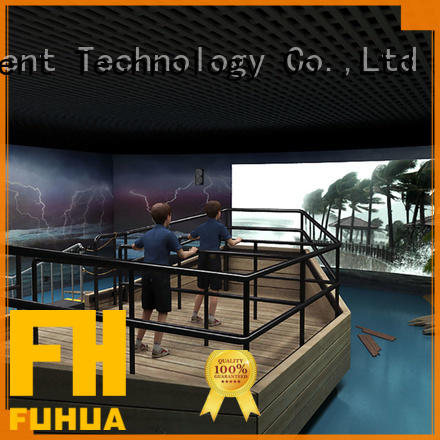 Fuhua high performance voyage simulator for education for scenic area