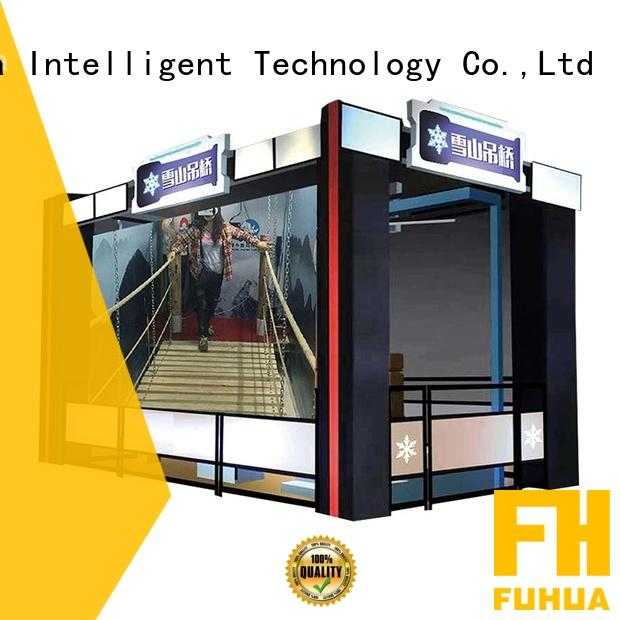 Fuhua vr vr bridge simulator different experience for shopping malls