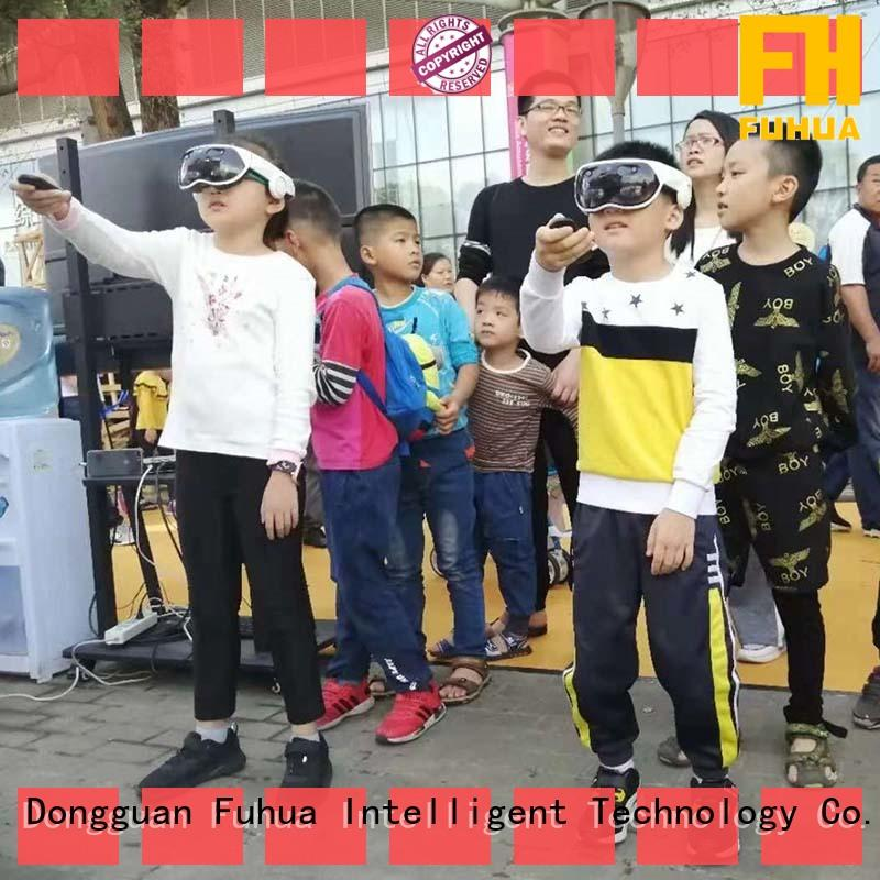 Fuhua mixed vr multiplayer game different experience for space & science center