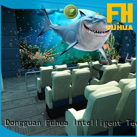 Fuhua Interactive 5d cinema for kids for amusement park