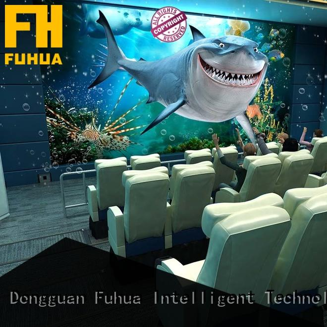 Fuhua theater 5d cinema for adults for amusement park