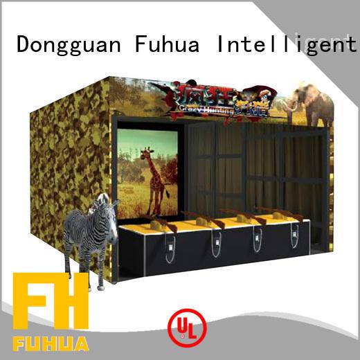 Fuhua high performance shooting simulator for home dynamic control technology for cinema