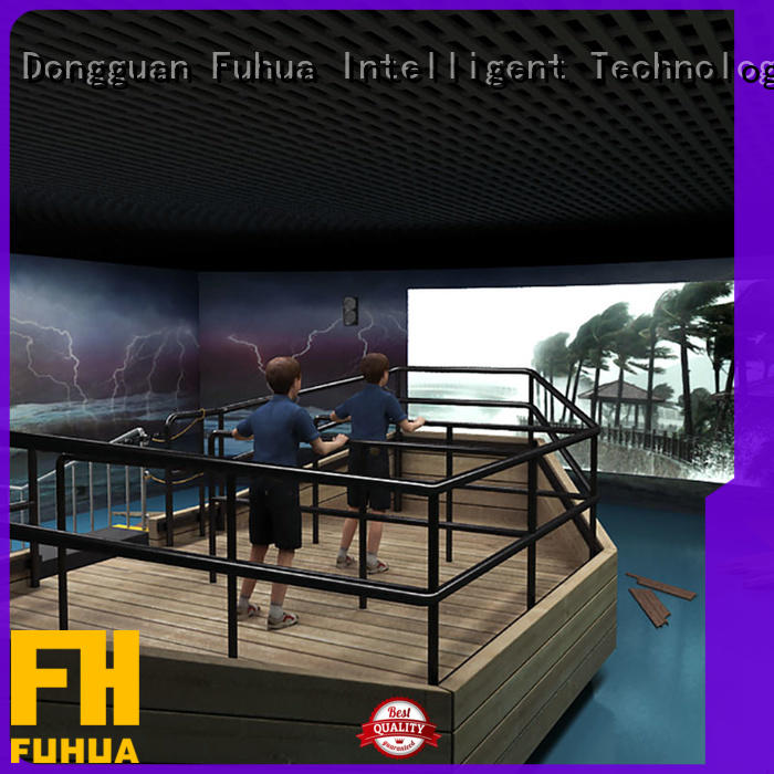 Fuhua experience typhoon simulator for Science Education for museum