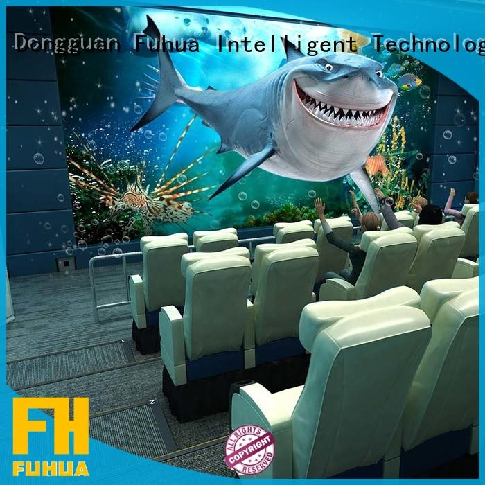 Fuhua high quality 4d 5d cinema for kids for market