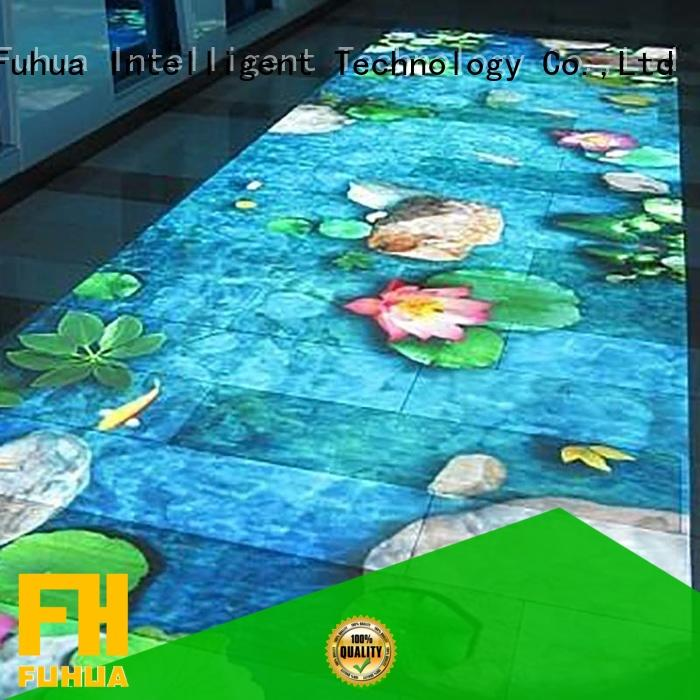 Fuhua simple 3d holographic projection for students for amusement park