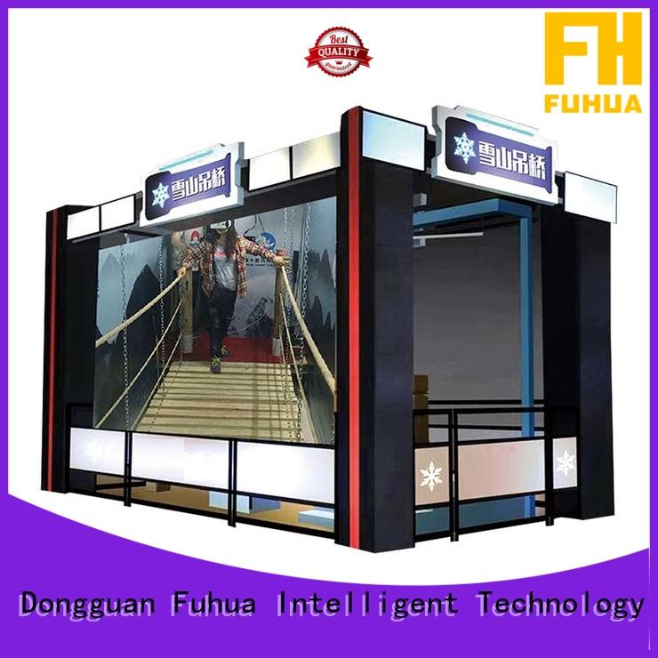 Fuhua Attractive virtual reality bridge with the real environment for shopping malls