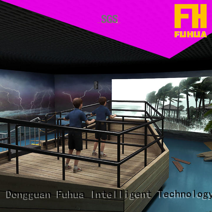 Fuhua automatic voyage simulator engines for museum