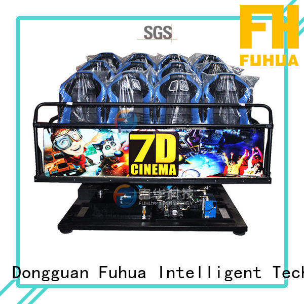 Fuhua theater 7d cinema simulator control system for aquariums