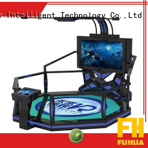 Fuhua cool kids shooting game dynamic control technology for theme park